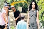 Asena Atalay ve Tan Taşçı'nın Bodrum'da aşk tatili