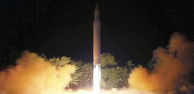 Kuzey Kore'den balistik füze açıklaması geldi