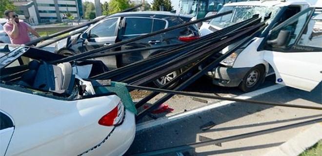Antalya'da yürekleri ağızlara getiren kaza!