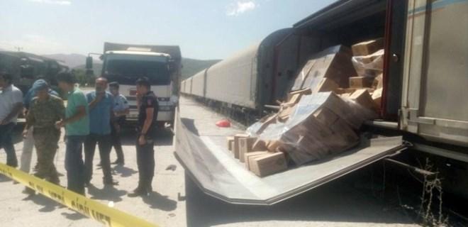 Bitlis'te tren vagon kapağı askerlerin üstüne düştü!