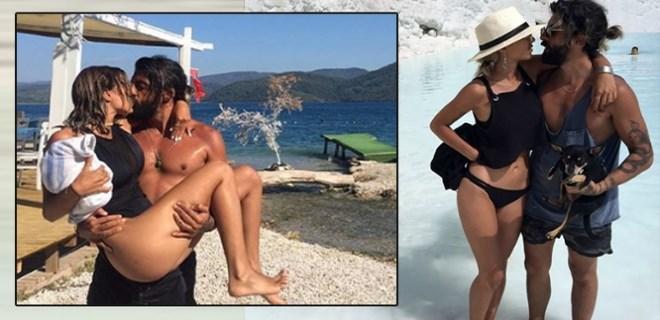 Lara Özdemiroğlu tutkulu bir aşk yaşıyor