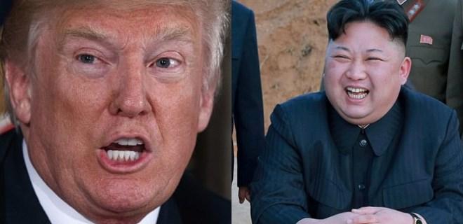 Trump'tan çok sert Kuzey Kore açıklaması