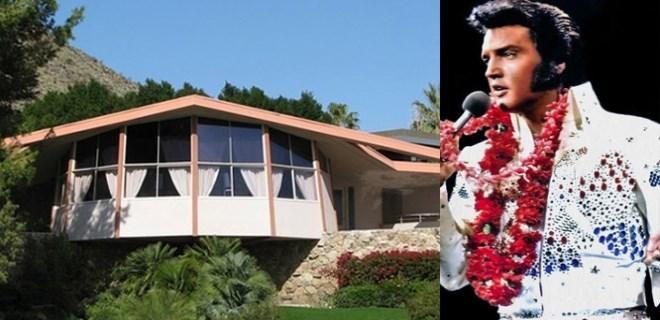 Elvis Presley'in evi kiralık!