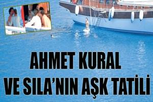 Ahmet Kural ve Sıla'nın aşk tatili