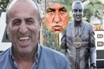 Selahattin Aydoğdu'nun heykelini diktiler!