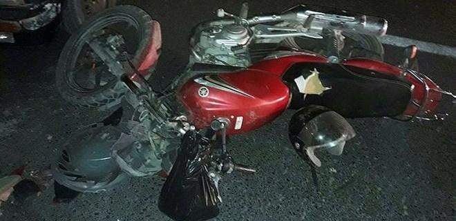 Manisa'da motosiklet kazası can aldı