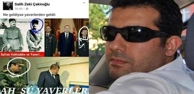 Atatürk'lü 'yaver' paylaşımına idari soruşturma da başlatıldı