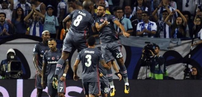 Beşiktaş'tan 'Devler Ligi'ne dev başlangıç!