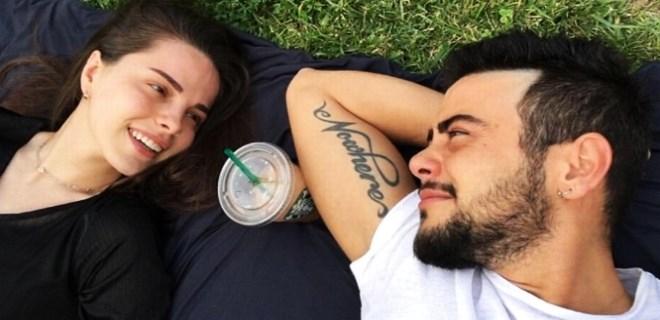 Rüzgar Erkoçlar ve nişanlısının derin romantizmi