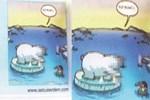 Karikatürlü sayfa ders kitabından nasıl imha edilecek?
