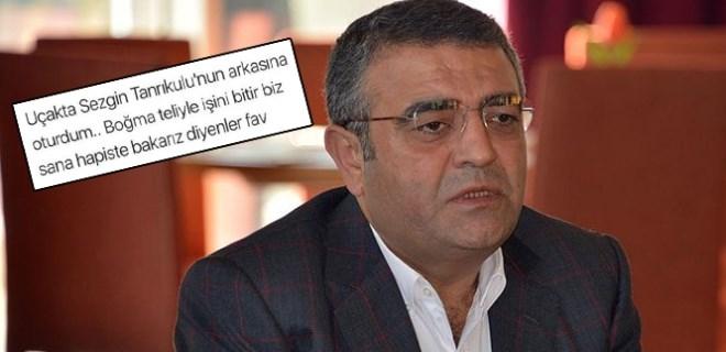 Sezgin Tanrıkulu'na sosyal medyada tehdit skandalı!