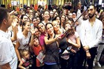 Ebru Şallı Antalya'da şov yaptı