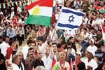 'Bağımsızlık mitingi'nde İsrail bayrakları!