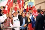 Cumhurbaşkanı Erdoğan'a coşkulu karşılama