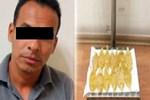 Midesinden 1 kilo likit kokain çıkarıldı