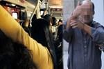Otobüsü karıştıran taciz iddiası!..