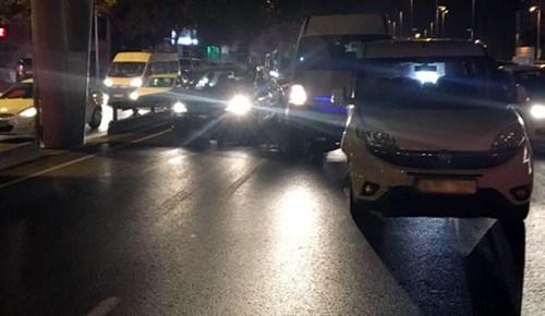 Bonzai içen servis şoförü trafikte dehşet saçtı!