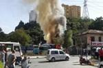 İstanbul Sarıyer'de büyük yangın!