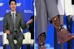 Kanada Başbakanı'nın konuşulan çorapları!