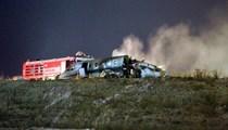 Atatürk Havalimanı'nda özel jet düştü