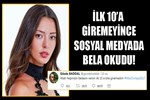 Miss Turkey finalisti Gözde Baddal bela okudu!