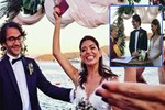 Ceren Moray, Fransız sevgilisi Nicco ile evlendi