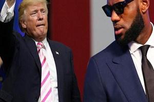 NBA yıldızları Trump'a karşı!