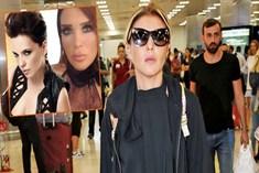 Gülben Ergen havalimanında sinir krizi geçirdi!