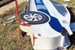 Alkollü sürücü, maket polis aracına çarptı!