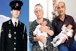 55 yaşında ikiz bebekleri oldu!..