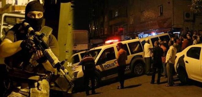 İstanbul'da gece yarısı hareketli dakikalar!