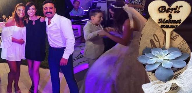 Senarist ve oyuncunun düğününe ünlü akını