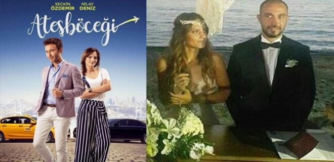 Oyuncu Nilay Deniz evlendi