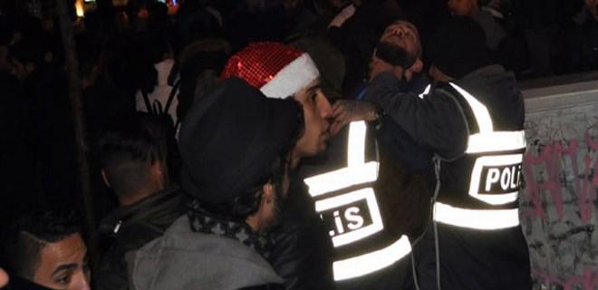 Eskişehir'de yeni yıl kutlamalarında gerginlik!