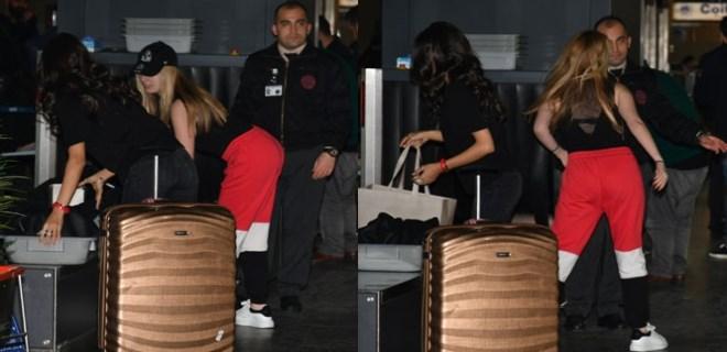 Yasmin Erbil'in gece yarısı Londra kaçışı!
