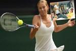 Sharapova'dan tatlı destek!