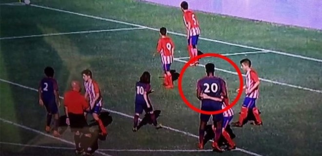12 yaşındaki futbolcu sosyal medyayı salladı!