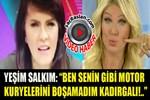 Yeşim Salkım canlı yayında Seda Sayan'a saydırdı!