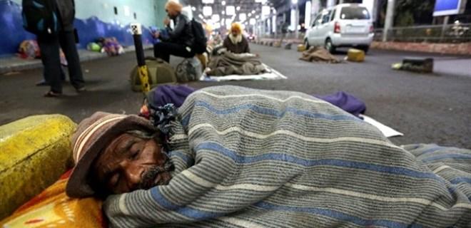 Hindistan'da soğuk hava dalgası
