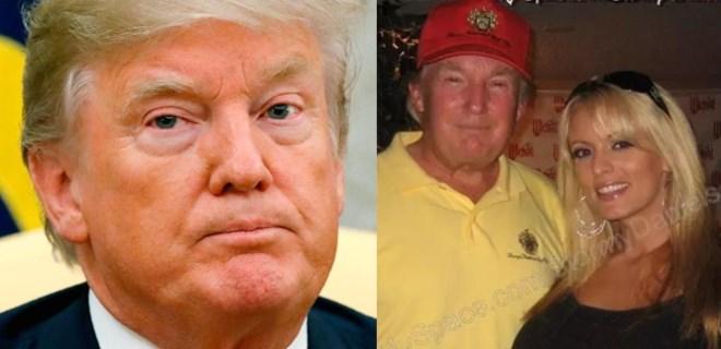 Trump porno yıldızına 130 bin dolar para ödemiş!