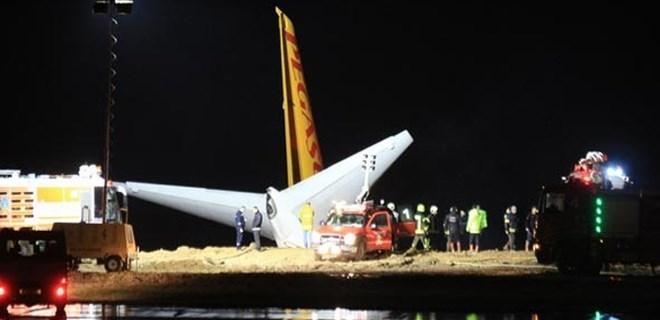 Trabzon Havalimanı'na iniş yapan uçak pistten çıktı!