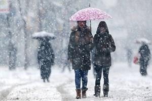 Kar bu kez Sibirya'dan geliyor!