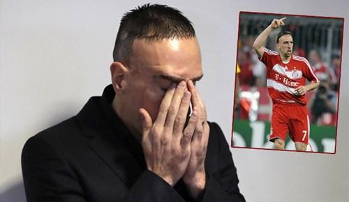 Ribery yüzündeki yaranın hikayesini anlattı