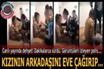 Antalya'da canlı yayında dehşet anları