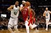 NBA'de New Orleans Pelicans, yıldız basketbolcusu Anthony Davis'in 45 sayı, 16 ribaund ile oynadığı...