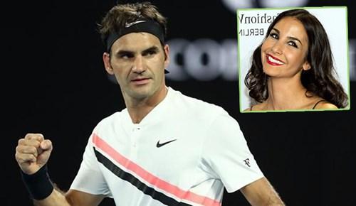 Sıla Şahin'in eşinden Federer müjdesi!