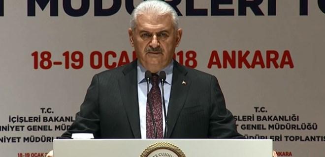 Başbakan Yıldırım'dan ABD'ye: