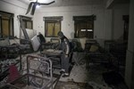 Terör örgütü PYD/PKK Azez'deki hastanelere saldırdı!