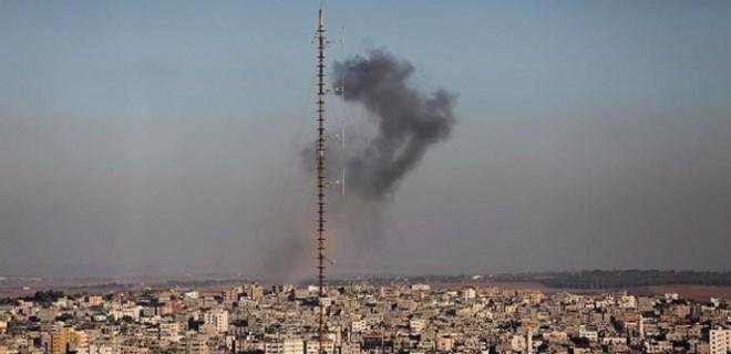 İsrail, yine Gazze'yi vurdu!