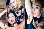 Madonna'nın kızının tüylü görüntüsü olay oldu